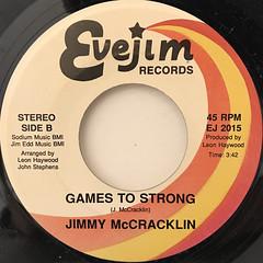 JIMMY MCCRACKLIN:ALL SHUCKS(LABEL SIDE-B)