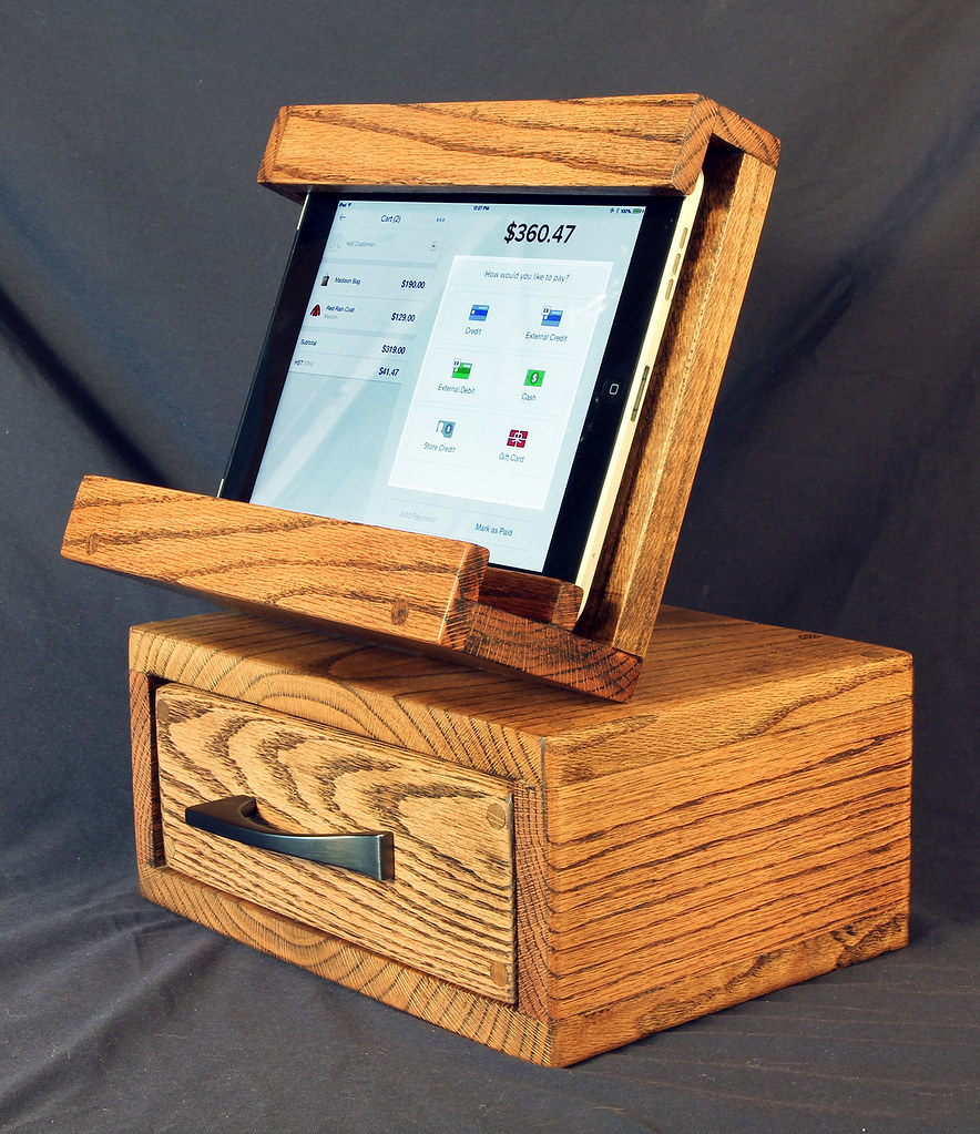 Oak iPad/Book Stand