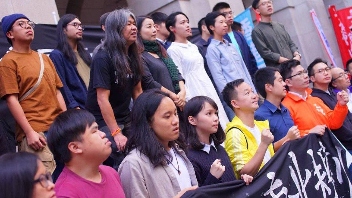 12 月 3 日反威權大遊行(攝:朝雲)