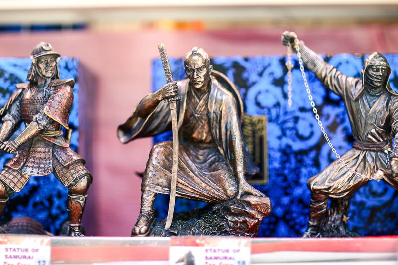 Samurai souvenir