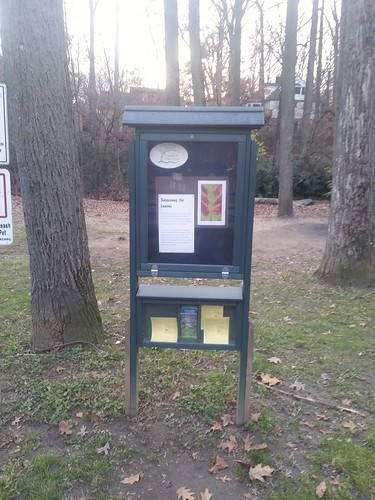 Information board, Sligo Creek Trail