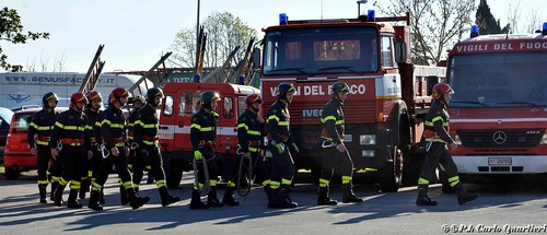 Pistoia, premiati i vigili del fuoco
