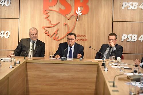 Reunião com a bancada do PSB na Câmara