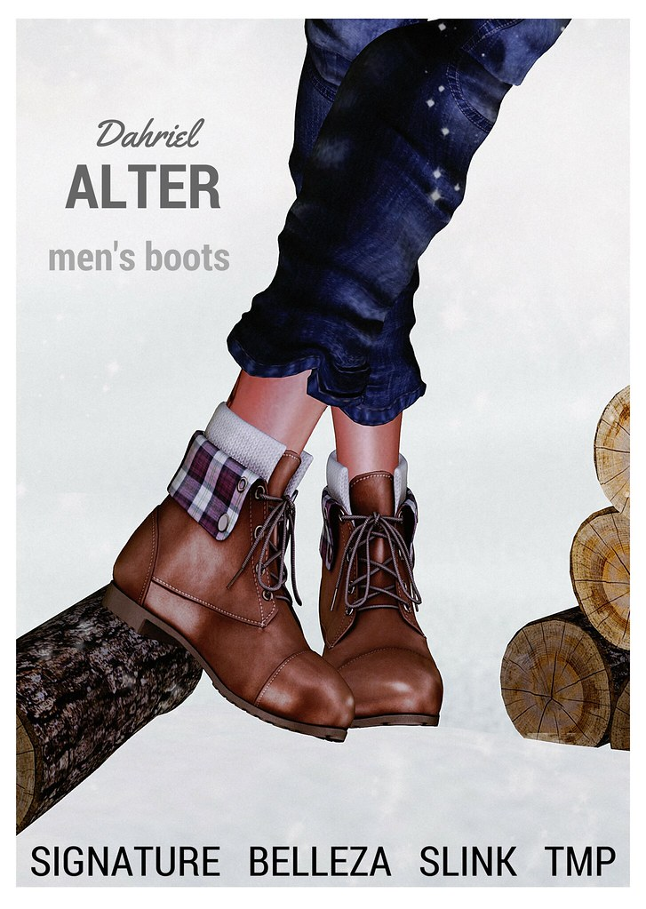 ::ALTER:: Dahriel men's boots / Signature – Belleza – SLink – TMP