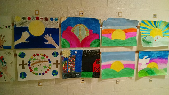 Peace Poster sampling