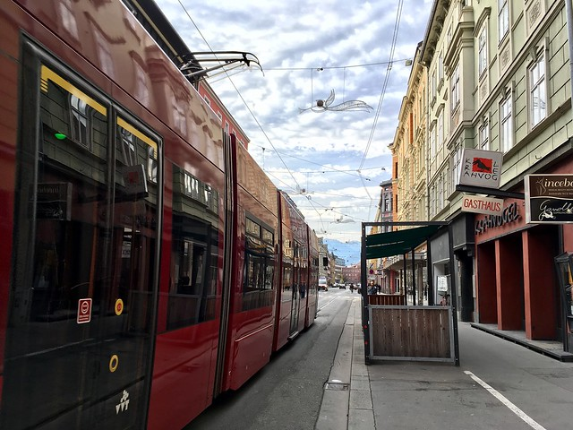 Tram in Innsbruck