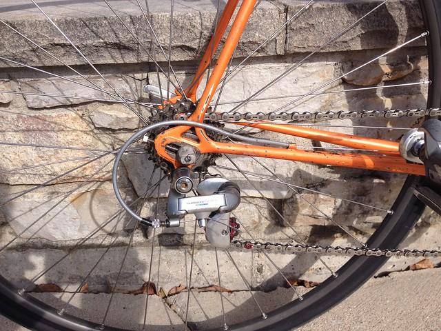 Shimano 8 speed Centeron upper G pulley derailleur jockey wheel NEW old stock