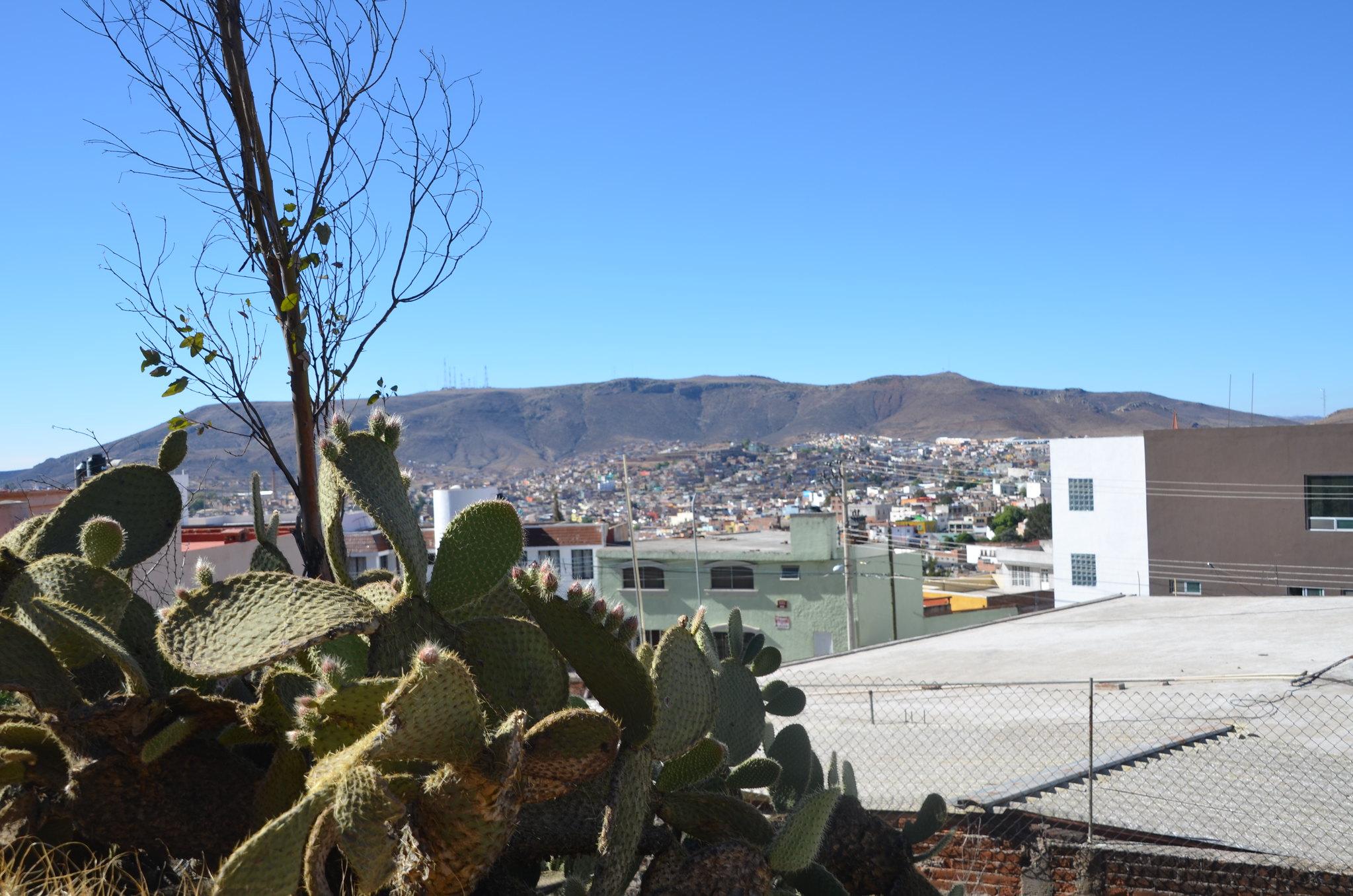 サカテカスの町並み