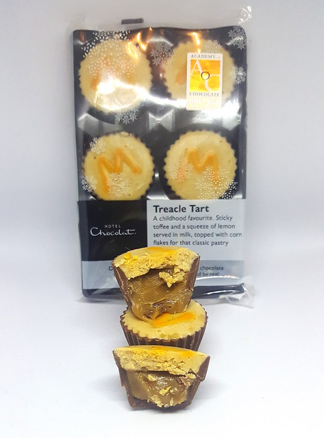 Hotel Chocolat Treacle Tart