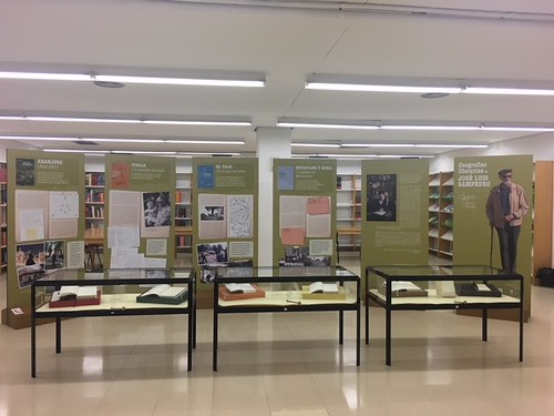 Exposición itinerante José Luis Sampedro, 2017