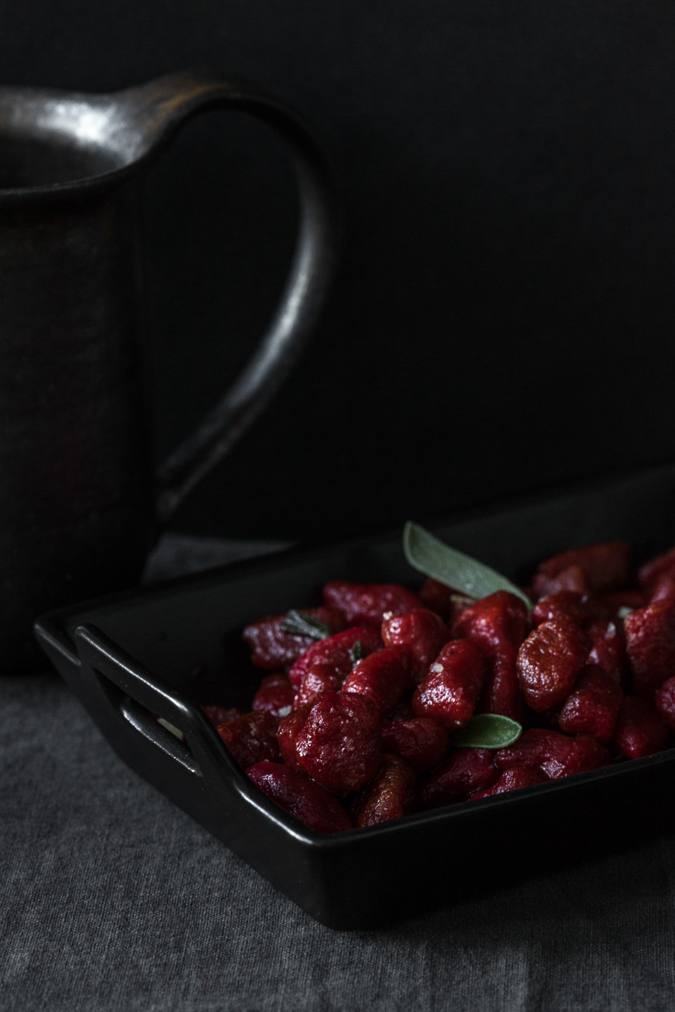 Beet Gnocchi with Sage Brown Butter
