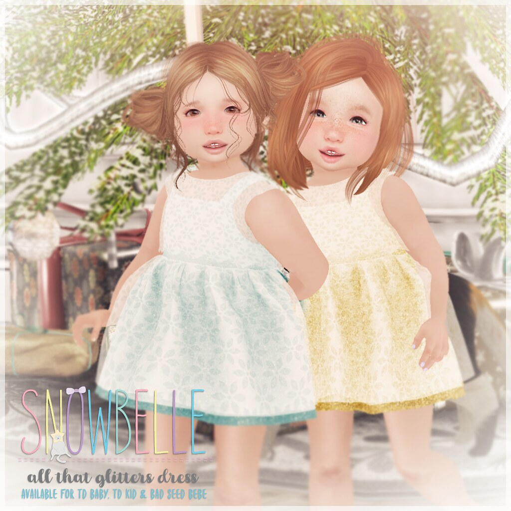 { snowbelle } all that glitters dress - TeleportHub.com Live!