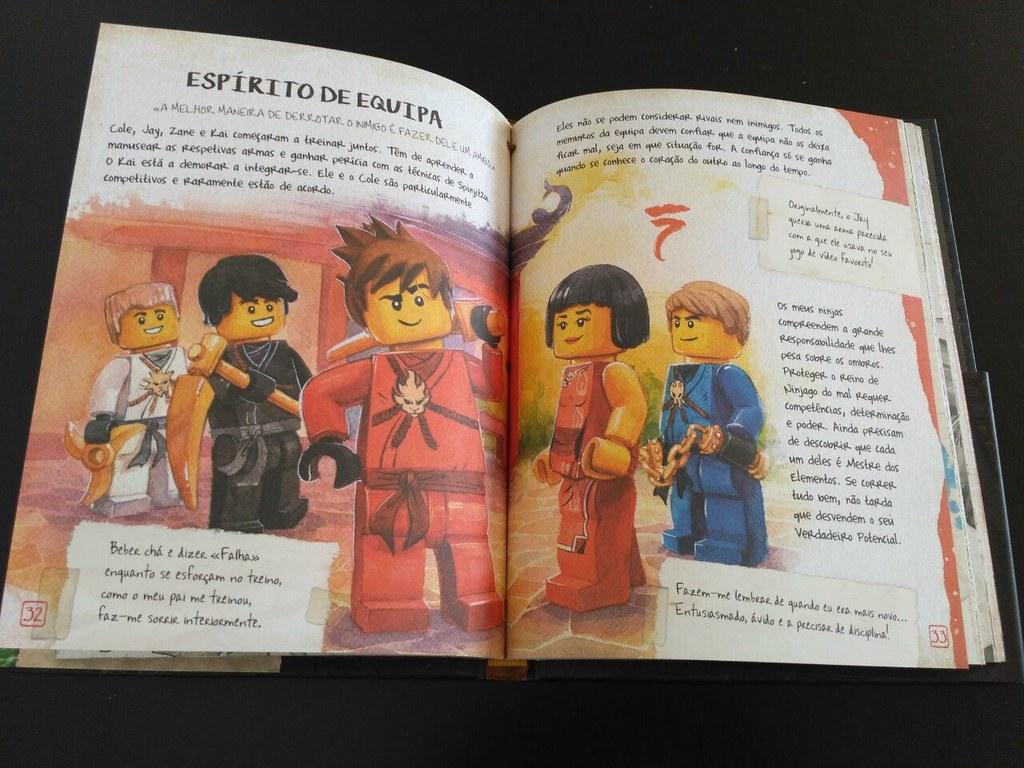 Ninjago: o livro do Spinjitzu