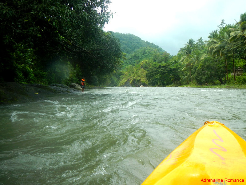 Whitewater kayaking in Tibiao River