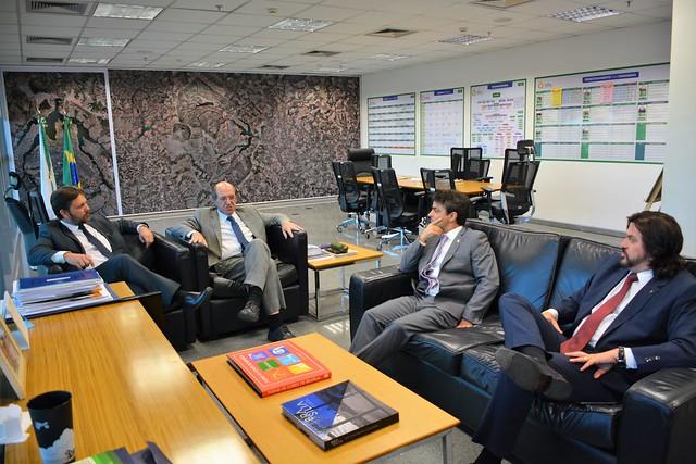 Reunião com Dr. Leonardo Bessa