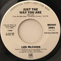 LES MCCAN:JUST THE WAY YOU ARE(LABEL SIDE-B)