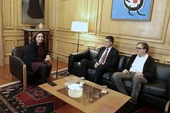 dv., 17/11/2017 - 13:06 - L'alcaldessa presenta els nous comissionats d'Empresa i Innovació i de Cultura