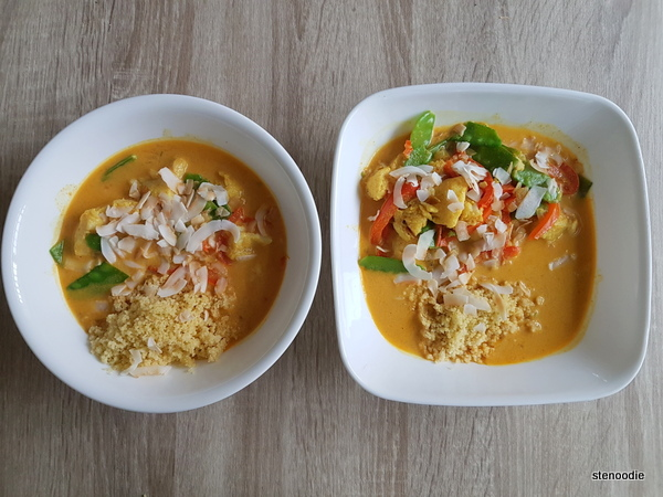 Thai fish curry for two