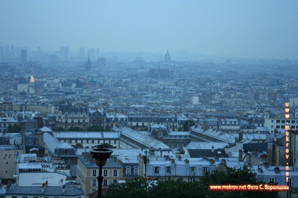Исторический центр Парижа пейзажи