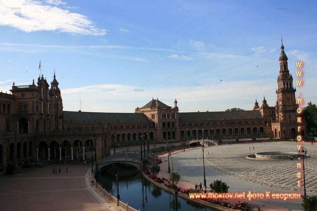 Севилья — Испания сделанные как днем, так и вечером