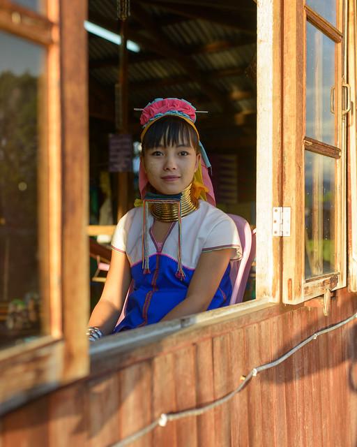 Padaung Woman, Inle Lake, Maynmar
