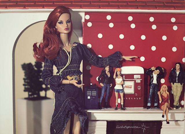 When dolls collect dolls.
