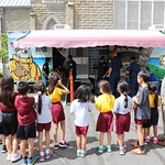 Honolulu Fire Department Visits Grade School