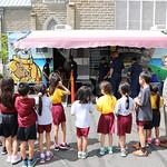 Honolulu Fire Department Visits Grade School