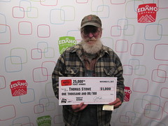 Thomas Stowe - $1,000 - Idaho $1,000,000 Raffle