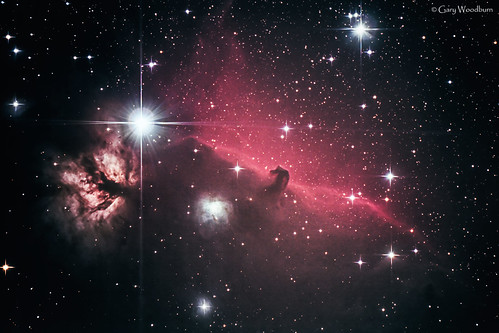 The Flame & Horsehead Nebulae - NGC 2024 & Barnard 33