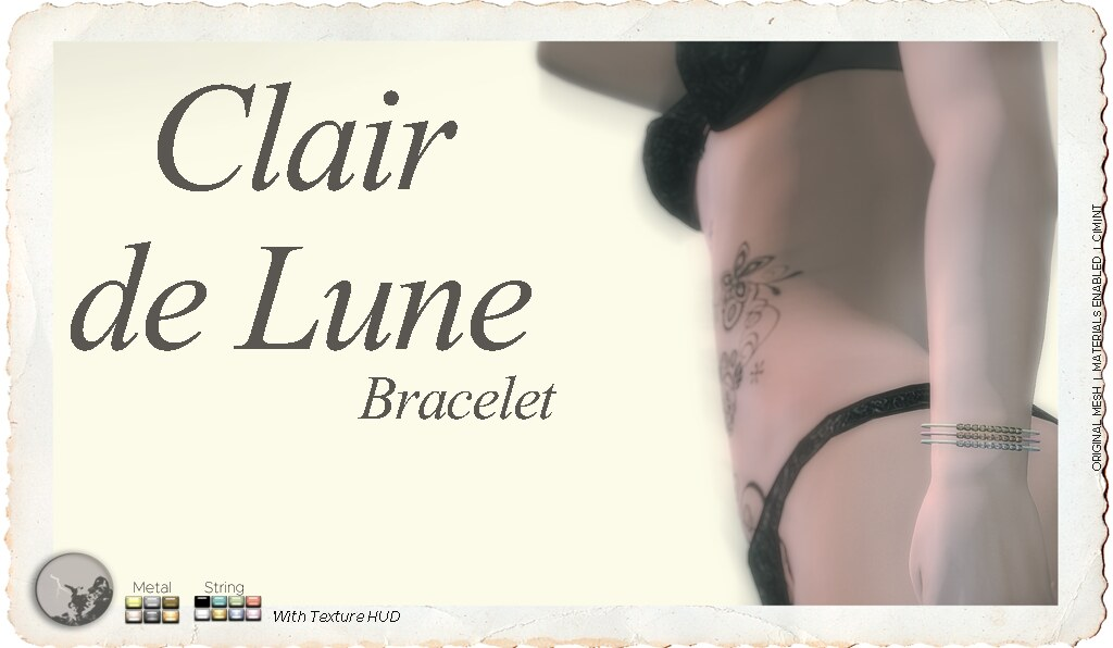 Clair de Lune bracelet @ Chapter Four December - TeleportHub.com Live!