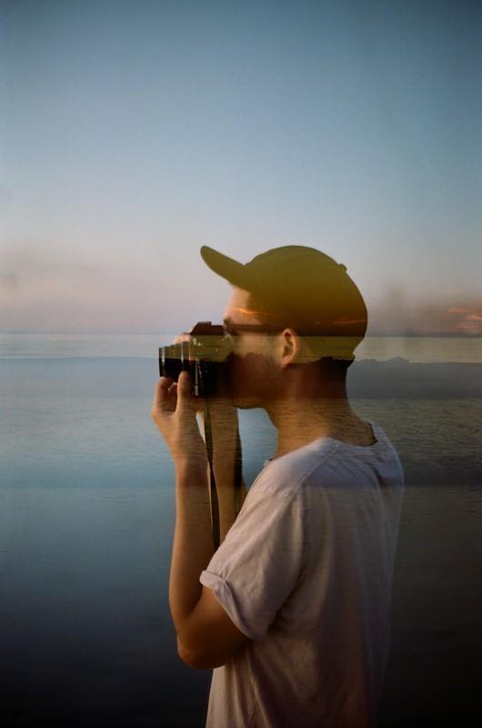 Nikon F3 50mm. f/1.2 on Portra 400