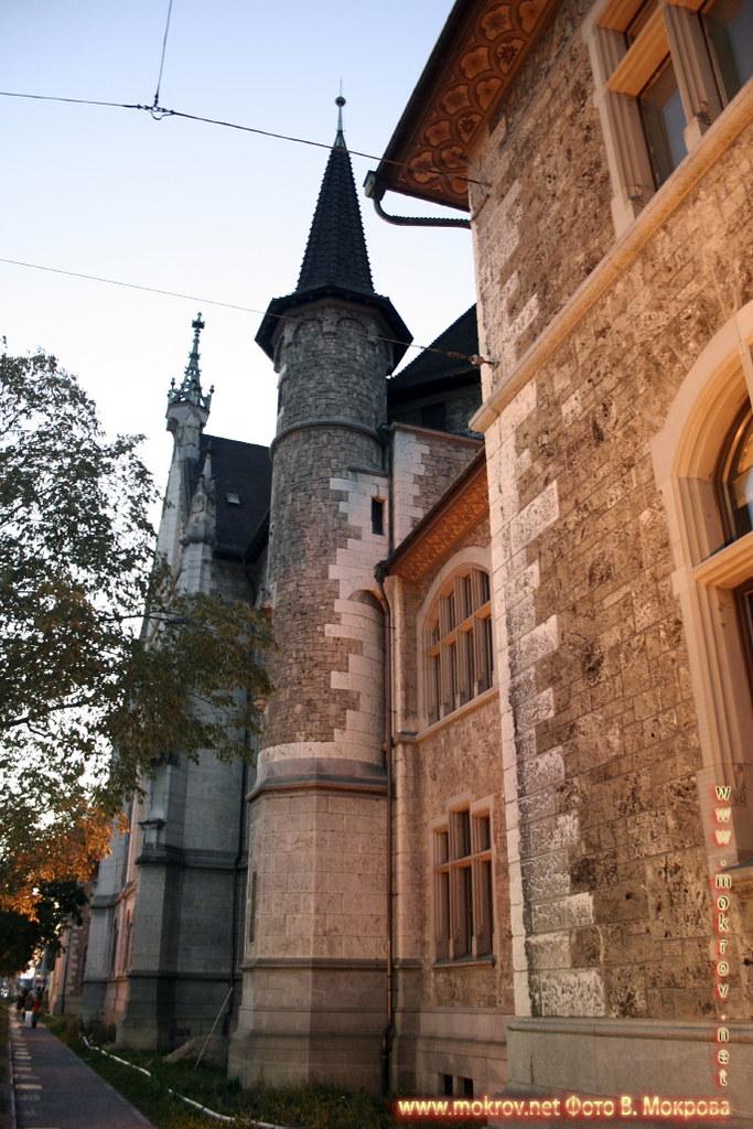 Исторический центр города Цюриха пейзажи