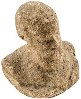 Macerated currncy Benjamin Harrison bust1
