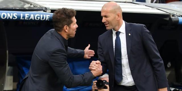 Rekor Zinedine Zidane Tercoreng Oleh Atletico Madrid