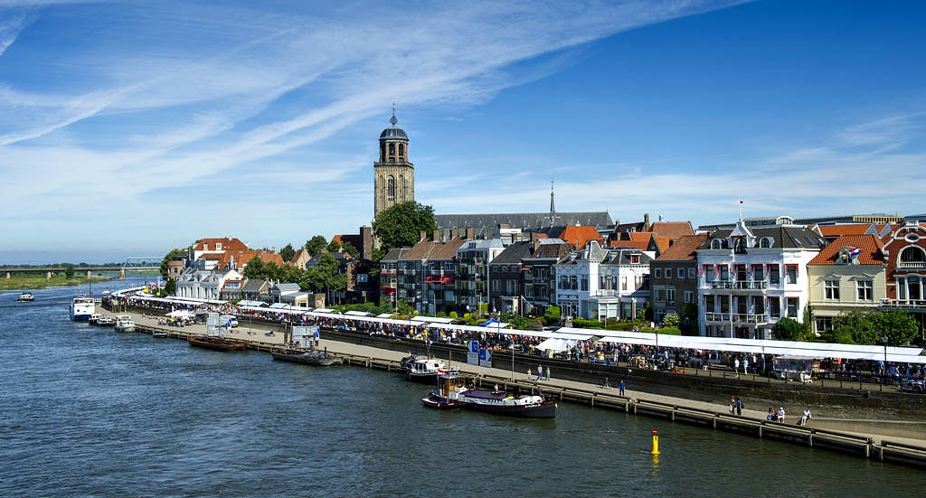 7x colourful sights in Deventer, The Netherlands: IJssel River | Your Dutch Guide