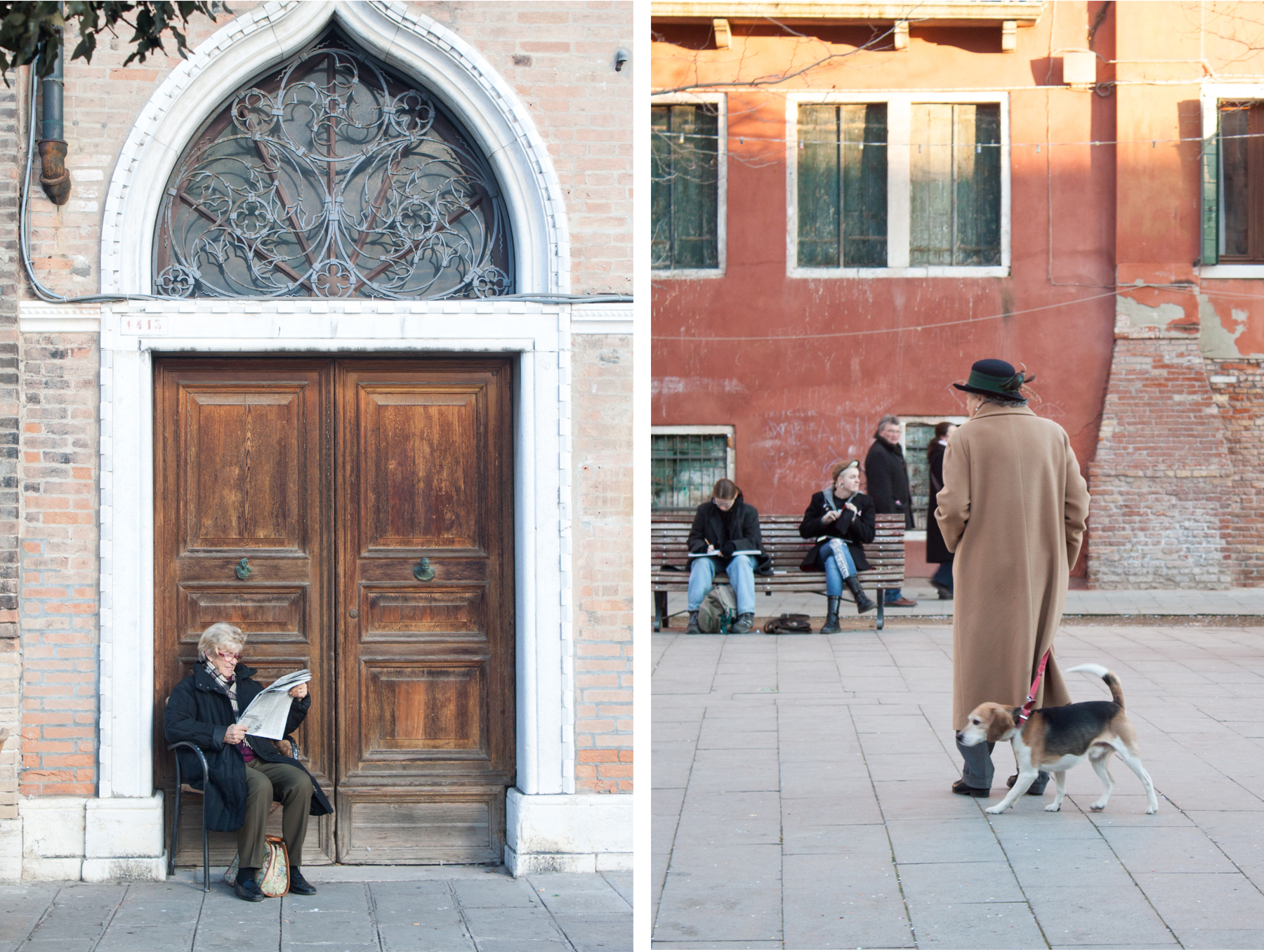 Streets of Venice, Reading and Dogs | awaywithkatie.com