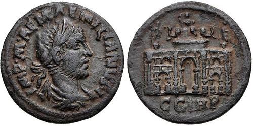 Bronze of usurper emperor Aemilian