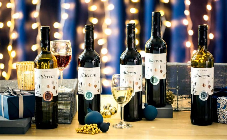Aderum Organic Wine healthy options