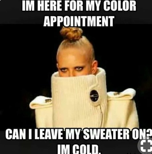 'Tis the #season it's #chilly outside!! Don't forget to book your #Holiday appointment