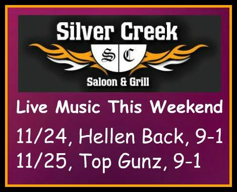 Silver Creek Poster 11-24-17