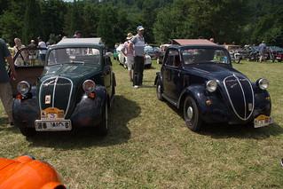 1938 u. 1945 Fiat 500 Topolino A _a