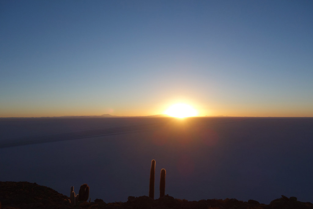 Uyuni - Isla Incahuasi - Sunrise 1