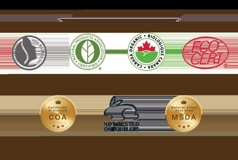 SOTERIA(化妝水/精華液) - 原料/產品/國際認證