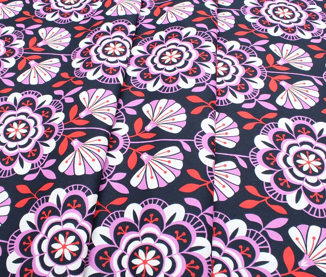 Cloud9 Fabrics Bohemian Garden 200801 Dahlia Daydream