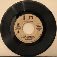 WAR:THE CISCO KID(RECORD SIDE-A)