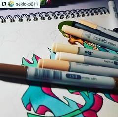 #Repost @sekloko211 ・・・ . We ship to the USA and Canada only. @otakufuel is an AUTHORIZED COPIC DEALER trusted and backed by @copicmarker ••• Most USA orders over $35 qualify for free shipping. . www.otakufuel.com . #copicmarkerstore #copicart #drawing #d