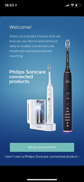Philips Sonicare iOS App - Setup #1