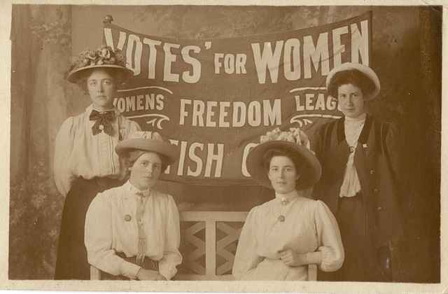 Scottish Women's Freedom League group portrait. Credit: LSE Library