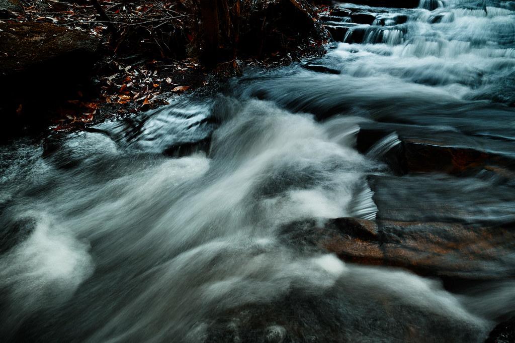 秋の渓流 #2